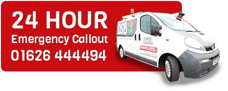 24 hour emergency plumbing call out 01626 444494