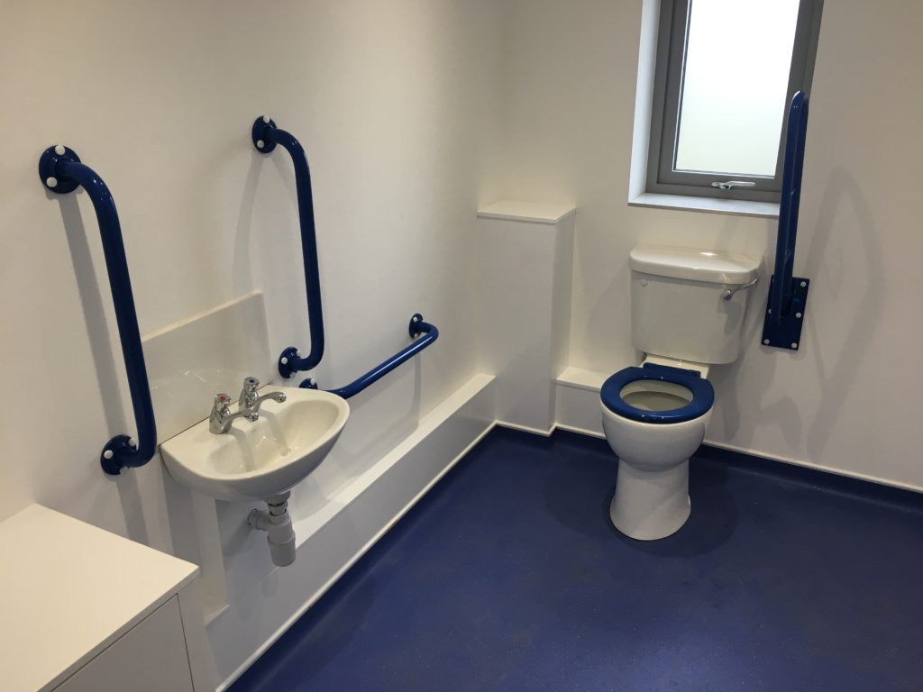 Disabled wash room installer Exeter - DSB Ltd