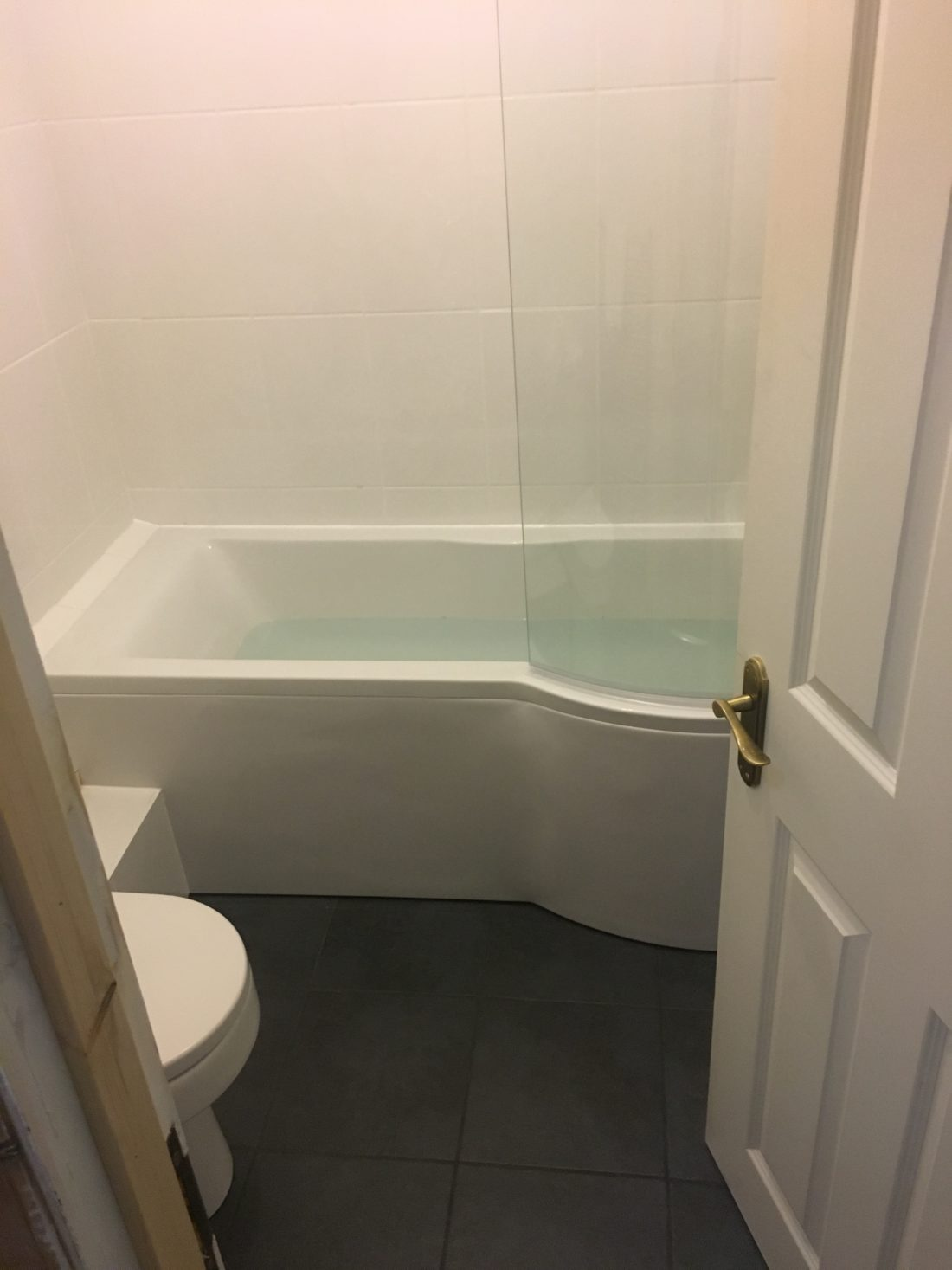 Completed bathroom refit by DSB Ltd Teignmouth